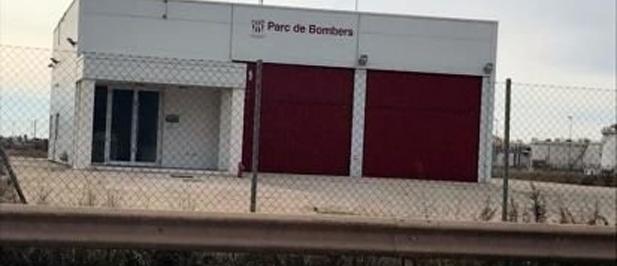 El Parque de bomberos del Grao se encuentra actualmente cerrado y sin servicio alguno.
