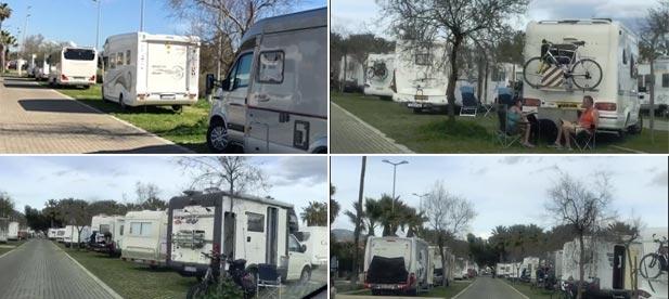 """Guillamón: """"Pese al parking de autocaravanas, impulsado por el bipartito, la mayoría de caravanistas opta por estacionar cerca de la primera línea de playa, sin ningún control y de manera gratuita"""""""