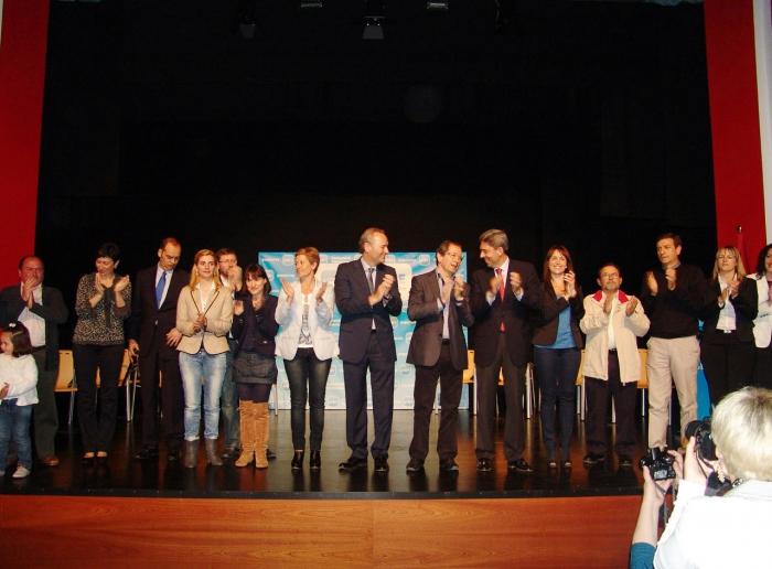 Vicente Rambla y Alberto Fabra arroparon a Rafael Calvo en su candidatura