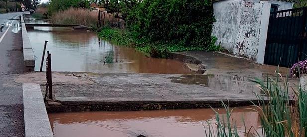 Canales de riego en Nules