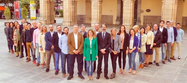 Candidatura completa de la ciudad de Castellón.
