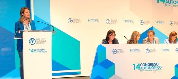La presidenta del Partido Popular de la ciudad de Castellón, Begoña Carrasco