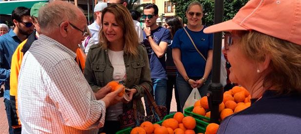 """Carrasco anuncia la creación del Consejo Agrario Local """"para que de la mano de nuestros agricultores, desde el Ayuntamiento se adopten políticas que relancen el sector."""""""