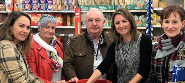 Carrasco alaba la gran labor social de la ONG Banco de Alimentos que atiende a 9.000 personas en Castellón, y confía en la solidaridad y apoyo de los castellonenses