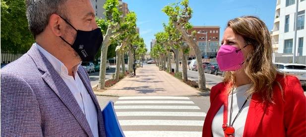 """Carrasco: """"Esta reforma lleva la firma de la alcaldesa y solo ella deberá dar explicaciones a todos los castellonenses cuando elimine definitivamente otro carril de acceso al centro de la ciudad, dejando morir los comercios"""""""