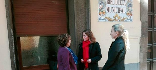 """Carrasco: """"Instamos a la Generalitat a que la biblioteca de Rafalafena se abra los sábados"""""""