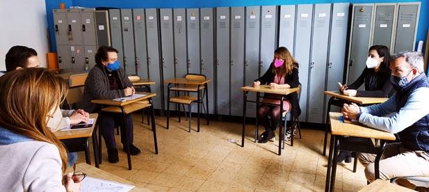 """Carrasco: """"El caos que ésta provocará, especialmente a quienes se desplacen en coches para llevar y recoger a sus hijos del colegio Consolación va a ser un problema, ya que se elimina el carril de acceso desde la rotonda de Tombatossals hasta Mª Agustina"""""""