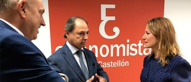 """Carrasco: """"La economía está dando síntomas de agotamiento, tras un periodo de crecimiento. Es el momento de incentivar su reactivación mediante la disminución de impuestos que contribuyan a que los castellonenses tengan más dinero en el bolsillo"""""""