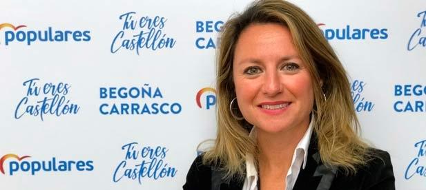"""Carrasco: """"Queremos seguir al lado de todos ellos, el Partido Popular sigue trabajando por Castellón"""""""