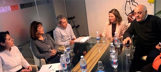 """Carrasco: """"Es necesaria la colaboración entre Ayuntamiento y Colegio de Gestores Administrativos para informar y facilitar los trámites a los castellonenses"""""""
