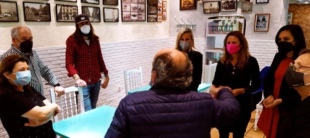 """Carrasco: """"Tras la inexistente contestación del concejal de Vía Pública, Jorge Ribes, a la petición registrada por la vía oficial de ocho propietarios de negocios de hostelería de la calle Campoamor, hemos decidido llevar su reivindicación al Pleno"""""""