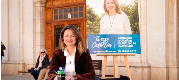 """Carrasco: """"Hemos lanzado la campaña 'Tú eres Castellón' porque creemos en las personas y queremos que todos los ciudadanos decidan la ciudad del futuro"""""""