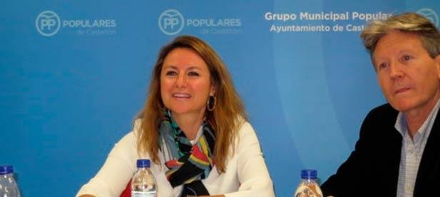 """Carrasco: """"En la oposición la alcaldesa pedía terminar con la inseguridad jurídica, 2 años después seguimos igual, Castellón pierde oportunidades de inversión"""""""