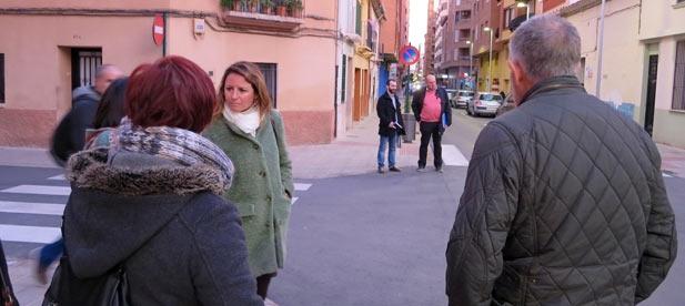 """Carrasco: """"El bipartito tiene la responsabilidad de subsanar los desperfectos que siguen denunciando en el barrio, sobre todo, por falta de seguridad para los peatones"""""""