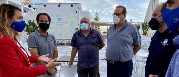 """Carrasco: """"Los mosquitos han sido la guinda de un verano cargado de adversidades para los hosteleros y restauradores de la ciudad de Castellón."""""""