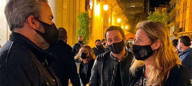 """Carrasco ha destacado el """"apoyo unánime"""" a la moción impulsada por PP y Ciudadanos para pedir ayudas urgentes para el sector del ocio nocturno"""