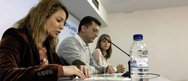 El PP de Castellón ha acogido hoy la presentación de la ponencia social que se debatirá en el XIV Congreso del Partido Popular de la Comunitat Valenciana