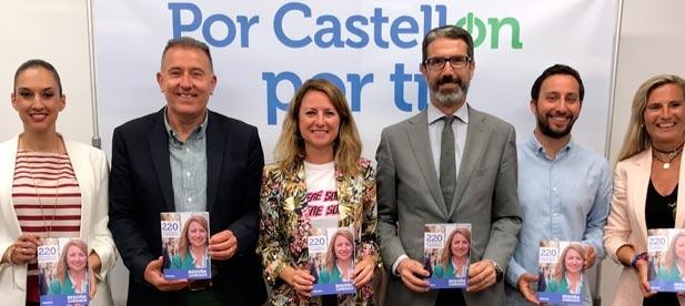La candidata por el PP al Ayuntamiento de Castellón ha presentado esta mañana las 220 propuestas para la ciudad.