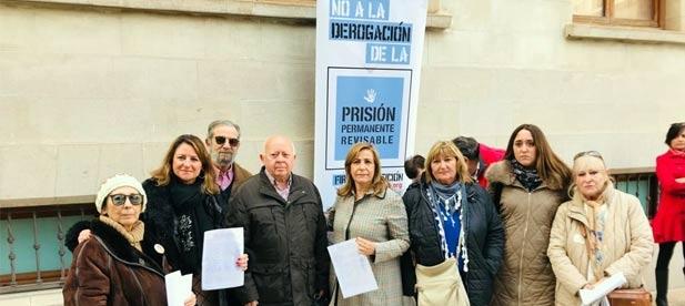 """Carrasco: """"Se debe mantener esta figura como en el resto de Europa por dignidad y por justicia con las víctimas"""""""
