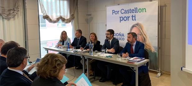 """Carrasco asegura que hay margen de mejora y que es posible hacer más con menos, """"dando facilidades a las empresas para que se instalen en Castellón y creen empleo de calidad y estable"""""""