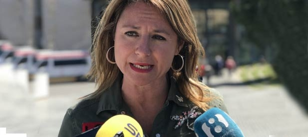 La portavoz del Grupo Municipal Popular en el Ayuntamiento de Castellón, Begoña Carrasco, denuncia la irresponsabilidad del gobierno de Amparo Marco
