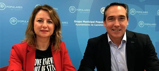 Ibáñez explica que frente a los 5,65 millones que hay sobre el papel, las enmiendas presentadas por el PP multiplican por 6 la inversión que necesitan los castellonenses.
