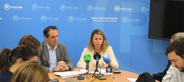 """Carrasco: """"No hay inversión específica para el colegio Vicent Marzá, ni para el Conservatorio de Danza, ni para la nueva residencia de Mayores, entre otros"""""""