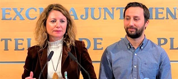 """Carrasco: """"Amparo Marco presentó en la comisión plenaria una moción de alcaldía para impulsar la unidad de acción institucional a última hora y por la puerta de atrás"""""""