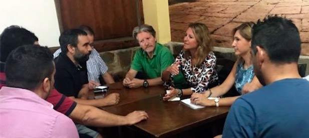 """Carrasco: """"Si queremos que el centro sea un referente turístico, como en otras ciudades, hay que apoyar a los empresarios y a los emprendedores que cada día abren la persiana generando oportunidades y empleo"""""""
