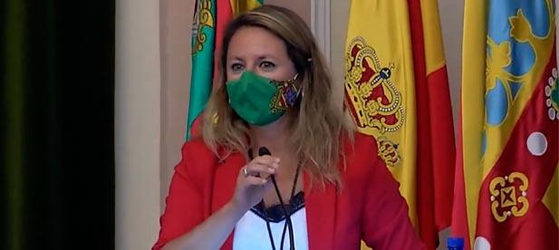 """Carrasco: """"La responsable de lo que pasa en esta ciudad es usted, si sus concejales no responden, céselos. Usted eligió a sus compañeros de viaje, a sus socios, con los que ahora no se habla."""""""