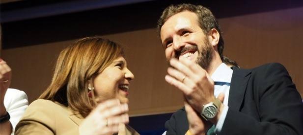 El Presidente nacional, Pablo Casado ha visitado la provincia de Castellón tres veces en menos de un año.