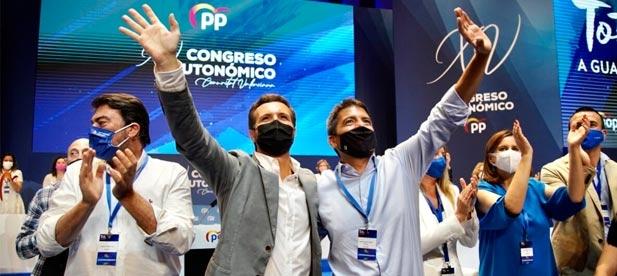 Mazón ha desgranado las principales líneas de actuación más urgentes tras mostrar el  apoyo del PP a la próxima candidatura para que Valencia sea sede de la America's Cup.