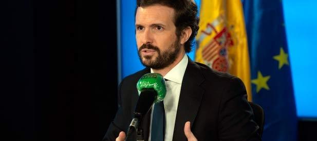 Pablo Casado entrevistado en Más de Uno de Onda Cero