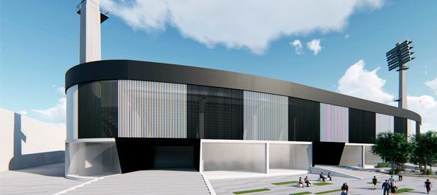 La reforma que plantea Carrasco y que abordará de manera consensuada con el Club Deportivo Castellón, se ejecutaría por fases con la vista puesta en el 2022,coincidiendo con la celebración del centenario del club.