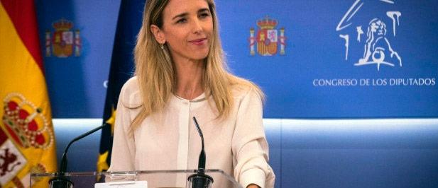 La portavoz del GPP en el Congreso de los Diputados, Cayetana Álvarez de Toledo