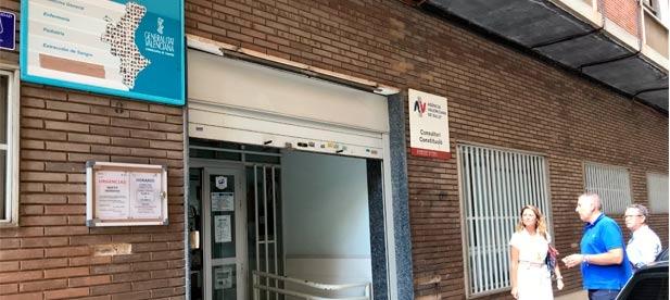 """Carrasco: """"Desde el PP ya presentamos en el pleno de septiembre de 2018 una declaración institucional sobre este tema y desde entonces hemos reclamado en reiteradas ocasiones mejoras para este ambulatorio"""""""