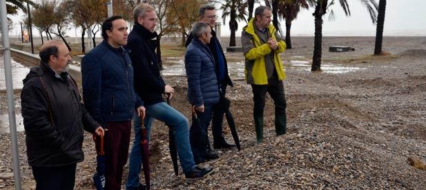 """Martínez """"El desprecio y el castigo del PSOE a la provincia de Castellón tiene su más claro ejemplo en el abandono de las playas"""""""