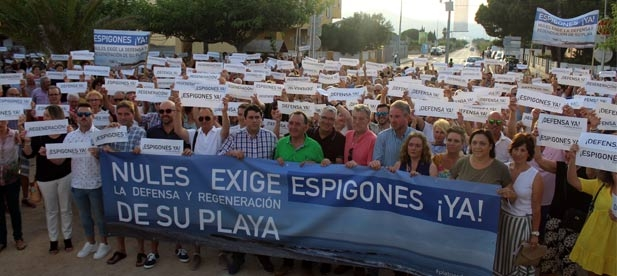 """Clavell (PP): """"Nules no merece la regresión de sus playas como tampoco España el castigo al que Pedro Sánchez somete a un país por priorizar sus intereses partidistas"""""""