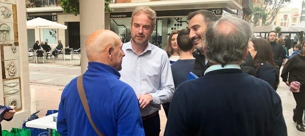 """El candidato número uno al Congreso por Castellón ha asegurado que """"si los españoles nos dan su confianza, volveremos a demostrar que el Partido Popular es empleo y que siempre salva a España de la crisis que crea el PSOE"""""""