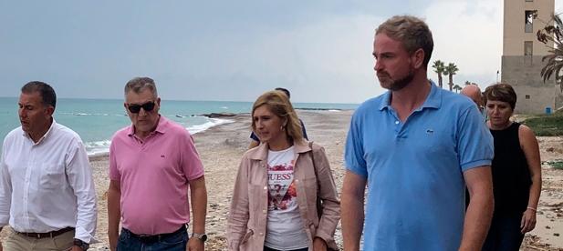 """Clavell: """"Con el PP en el Gobierno volverán las oportunidades para el litoral sur como generador de empleo y desarrollo turístico sostenible"""""""
