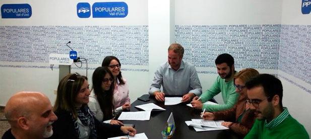 El PP de la Vall d'Uixó ha creado un grupo de trabajo para debatir y aportar ideas para el Plan municipal de Igualdad.