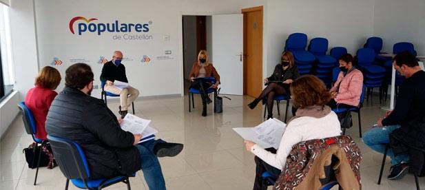 El Comité Organizador del Congreso (COC) del XV Congreso del PP de Castellón se ha constituido hoy ya de manera formal