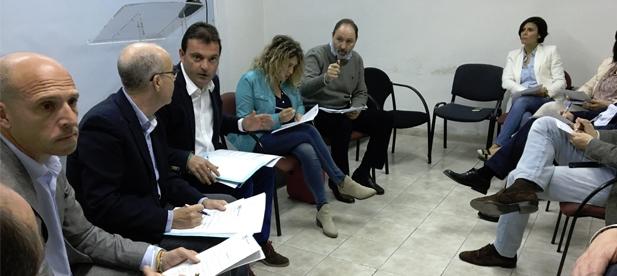 El Comité Organizador del XIV Congreso de PPCS ha mantenido hoy la primera reunión de trabajo