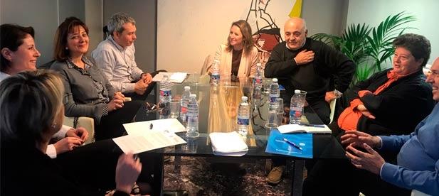 """Carrasco: """"La colaboración con el Colegio de Gestores Administrativos dará facilidades a la hora de pagar los impuestos municipales"""""""