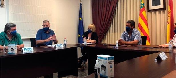 Los alcaldes y portavoces del interior trasladan al PP la necesidad de que la Diputación recupere la inversión en las carreteras para luchar contra la despoblación
