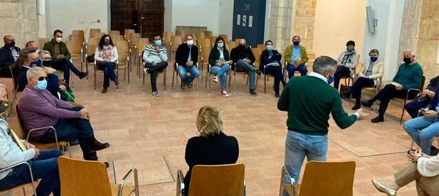 Los populares reclaman que se recupere la apuesta por la despoblación en la reunión de la comarca de Viver