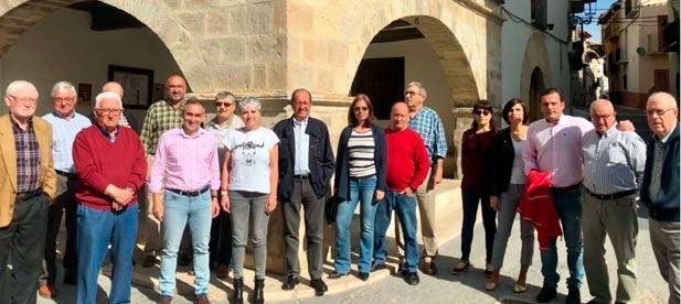 Los populares han aprovechado hoy la celebración de un encuentro comarcal de Els Ports para poner en valor las diferentes infraestructuras útiles que el Gobierno central ha puesto en marcha en la provincia.