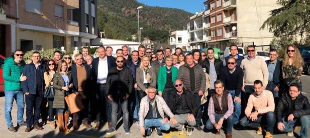 Los populares de Castellón ha realizado en Eslida un encuentro con alcaldes, concejales y simpatizantes