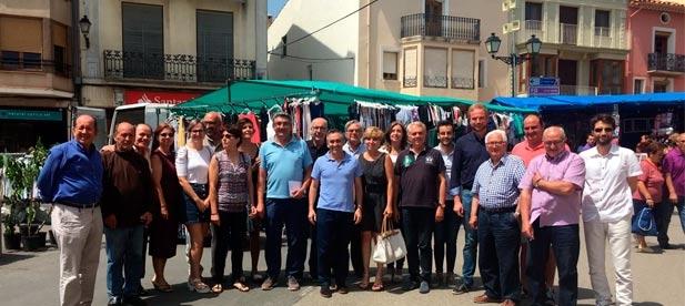 Barrachina ha mantenido hoy una reunión con alcaldes y portavoces de la comarca de Els Ports