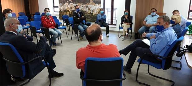 Los alcaldes de Sant Jordi, San Rafael, Canet y Peñíscola junto a los portavoces de otras localidades del norte de la provincia exigen una institución útil al servicio de la provincia